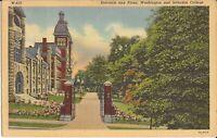 Washington, PENNSYLVANIA- Washington & Jefferson College - Entrance - 1937