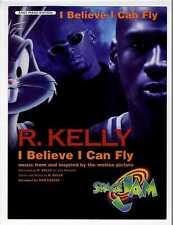 BUGS BUNNY MICHAEL JORDAN Sheet Music 1996 I Believe I Can Fly