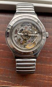 Swatch Irony skeleton automatic wristwarch