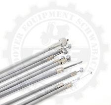 Zugsatz Tachowelle Seilzugkit Vespa V50 PV ET3 SS 90 Spezial grau Teflon PTFE