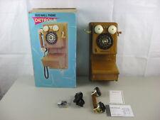 Detrola 1920 Wall Phone Model KM917-New Opened Box