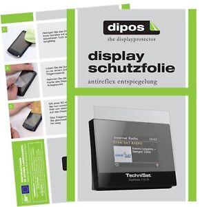 3x Schutzfolie für TechniSat DigitRadio 110 IR matt Displayschutzfolie Display