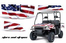 AMR Racing Polaris Ranger 500/700 UTV Graphic Kit Wrap Decal Part 04-08 USA FLAG