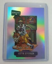2020 Chronicles JUSTIN JEFFERSON Downtown RC SSP Refractor Case Hit Panini LSU