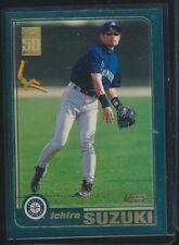 New listing 2001 TOPPS BASEBALL CARD ICHIRO SUZUKI #726 ROOKIE CARD