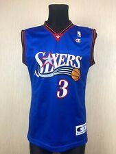 NBA Philadelphia 76ers SIXERS ALLEN IVERSON BASKETBALL SHIRT JERSEY CHAMPION S