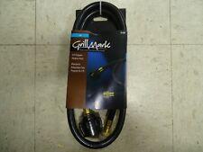 80024A Grillmark Stainless Steel/Rubber/Brass Gas Line Hose and Regulator