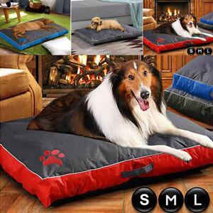 Dog Bed Mattress Cushion Waterproof Double Sided Puppy Cat Pet Pillow Warm Mat