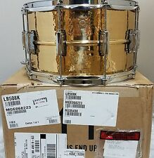 Ludwig 14x8 Bronze Phonic Hammered Snare +Free SKB 8x14 Hard Case FREE US Ship!