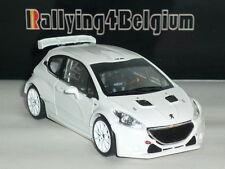 1/43 IXO Peugeot 208 T16 R5 White Blanc Wit Weiss MDCS017