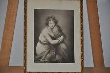 Barock - Gemälde - Sakral - Ölgemälde - Ölbild - um 1890 - vermutlich Kunstdruck