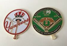 NYPD NEW YORK POLICE MLB BASEBALL YANKEE STADIUM SECURITY CHALLENGE COIN JETER