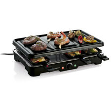 Raclette Grill Tischgrill Elektro 8 Personen Grillparty Raclettegerät 1200W