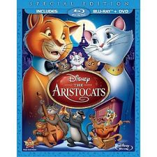 Disney's The Aristocats Special Edition 2-Disc Blu-Ray + DVD Combo NEW!