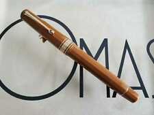 OMAS ARTE ITALIANA MILORD BROWN COLONIAL ROLLER BALL *NEW CONDITION*