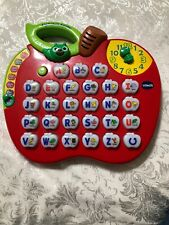 Vtech Alphabet Apple Education Letters Sounds Music Learning Toy