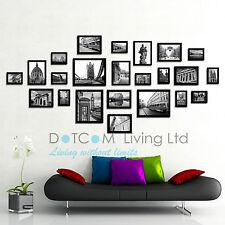 Multi Picture Photo Frames Wall Set 23pcs 176cm X 80cm Art Deco Home