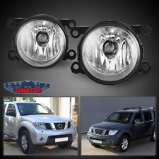 Fit Nissan Pathfinder 05-12 Clear Lens Pair Bumper Fog Light Lamp OE Replacement