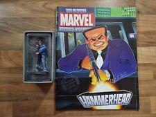 More details for hammerhead #184 classic marvel figurine eaglemoss & magazine