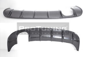 Diffuser For Audi A3 8P 08-12 Rear Bumper RS spoiler Valance addon Skirt Chin