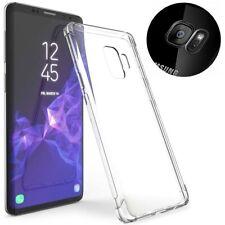 Cristalina Premium Slim Parachoques Completo Nuevo Gel Estuche Cubierta para Samsung Galaxy
