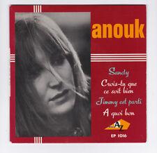 EP 45 TOURS ANOUK SANDY en 1965 DISC AZ EP 1016