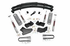 "Black Rear 2/"" Lift Kit Bronco F150 80-96 4WD"