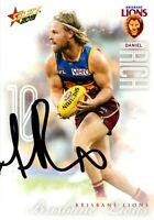 ✺Signed✺ 2019 BRISBANE LIONS AFL Card DANIEL RICH