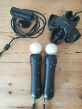 2 Sony PlayStation Move Motion Controller (PS3 / PS4) + Kamera + Ladestation