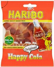 Haribo Halal Cola Bottles Mini Jelly Sweets Cola Flavour Gums Candy 100g Pack