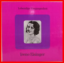 """IRENE EISINGER - LEBENDIGE VERGANGENHEIT 12"""" LP (B678)"""