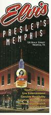 RARE / FLYER - ELVIS PRESLEY' S MEMPHIS : RESTAURANT DINNER / TENNESSEE ( USA )