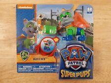 PAW PATROL SUPER PUP ROCKY FIGURE - HERO ULTIMATE RESCUE