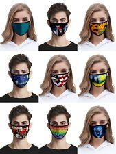 Fashion Unisex Cloth Face Mask Reusable Washable Cover Masks Style Men Women USA