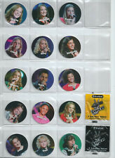 Complete set flippos pogs tazos The Voice kids