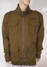 Tommy Hilfiger Mens Soft Cotton Green Military Field...