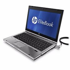HP Elitebook 2560p Core i5 2.60Ghz 4 GB 250 GB DVD portátil barato Win 8.1