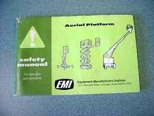 Aerial Platform Safety Manual