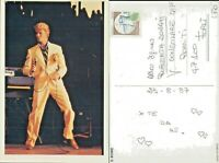 Cartolina d'epoca cinema attori -DAVJ BOWIE -old postcard-61232