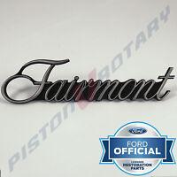 FAIRMONT Guard Badge , Chrome, BRAND NEW , for FORD XA XB Ford 351 GT Fender