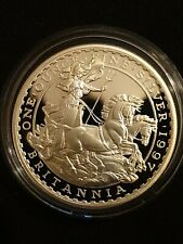 More details for royal mint 1997 britannia silver proof £2 coin 1oz