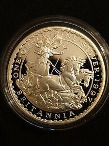 ROYAL MINT 1997 BRITANNIA SILVER PROOF £2 COIN 1oz