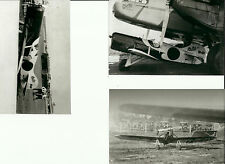 "SET OF 3: GEE BEE LOT #38 - 4"" X 6"" BLACK & WHITE AIRPLANE PRINTS"