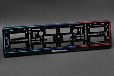 2 X BMW Kennzeichenhalter Nummernschildhalter