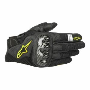 Alpinestars SMX-1 Air v2 Mens Street Riding Motorcycle Leather Perforated Gloves