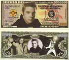 Elvis Presley The King 1 Million Dollars Bill Note