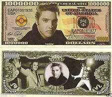 Elvis Presley The King 1 Million Dollars Bill Note