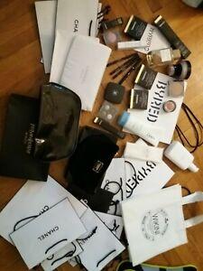 XXL Luxus Kosmetik Paket Proben * Parfum Makeup Tasche Chanel Clean Skin D&G uvm