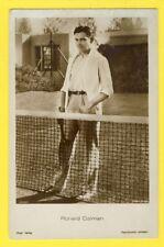 """cpa """"ROSS"""" United Artists BRITISH ACTOR Ronald COLMAN Acteur Britannique TENNIS"""