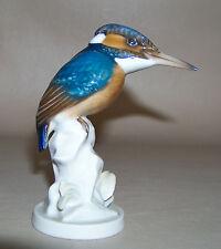 SCARCE Superb Vintage Rosenthal Kingfisher Bird, Fine German Porcelain Figurine